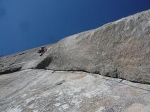 Escalade au Yosemite