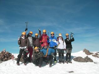 Stage Alpinisme à ASCO