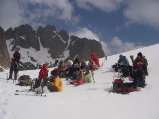 Alpinisme avec les lycéens de Corte
