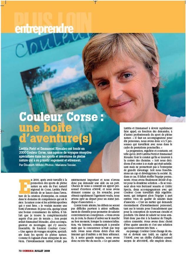 Article Corsica