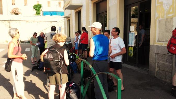 Rendez-vous avec Couleur Corse à la gare d'Ajaccio