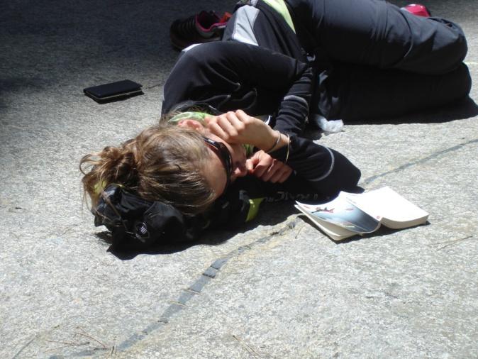 Marion et sa sieste réparatrice