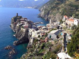 Le village de Vernaza (Cinque Terre)