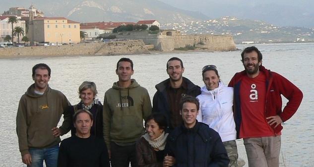 Randonnée en Corse: l'équipe de Couleur Corse