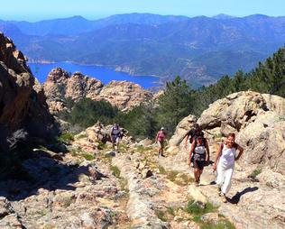 Jour 1 : En montant au Capu d'Ortu (1294 m)