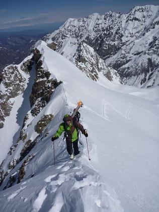 Stage de guide de haute montagne