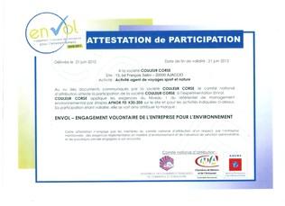 Couleur Corse obtient la marque EnVol