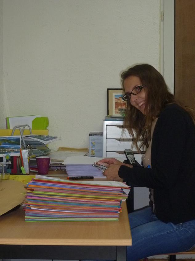 Journée pour l'environnement et recylage papier au bureau