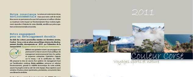 Brochure Couleur Corse 2011
