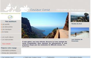Ca bosse à Couleur Corse: nouveaux sites Autotour et Séjours en Famille