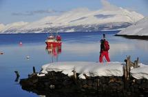 Ski de randonnée en Norvège à bord d'un voilier