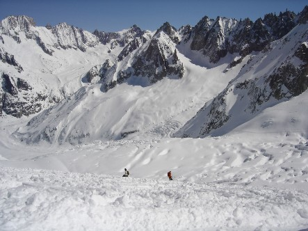 4 jours avant le proba ski à Chamonix