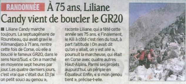 Bravo Liliane !