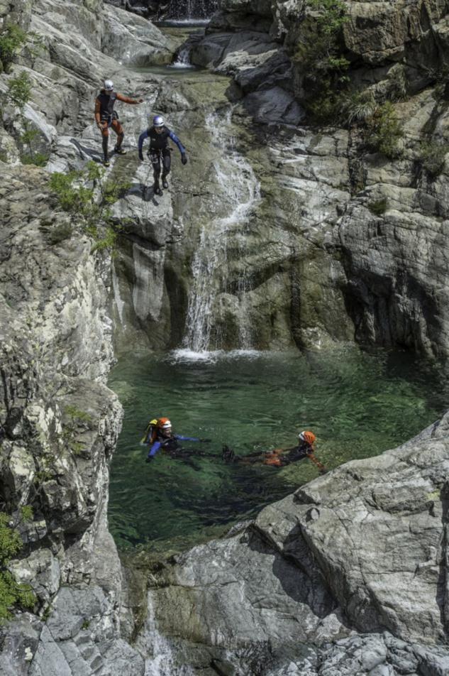Canyoning dans le Zoicu - Soccia
