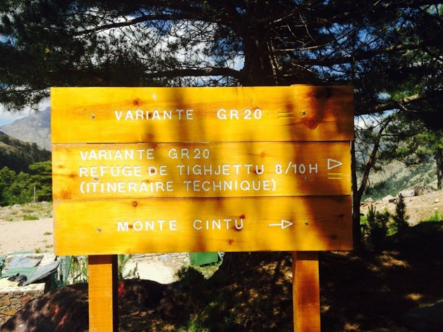 La variante GR20 Monte Cintu ©pnrc
