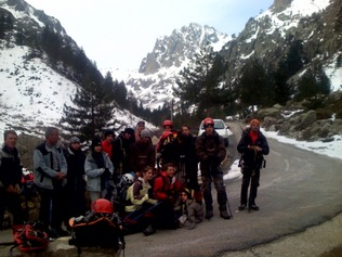 Initiation à l'alpinisme en Corse