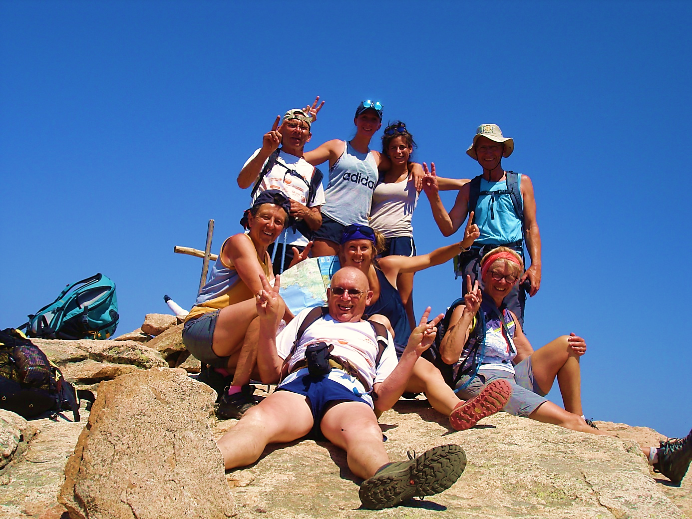 Enfin au sommet du Capu d'Ortu !