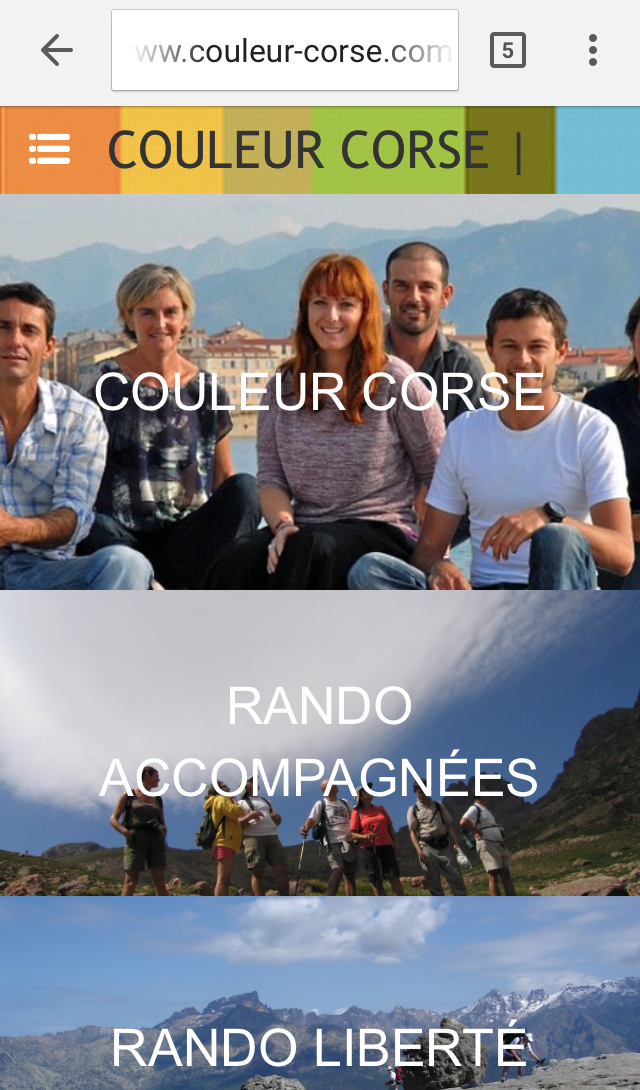L'agence outdoor en Corse