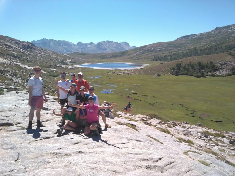 Le lac de Nino - GR 20 Nord