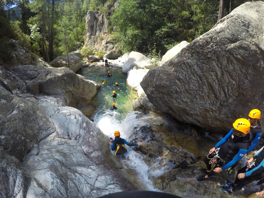 Canyoning Verghellu