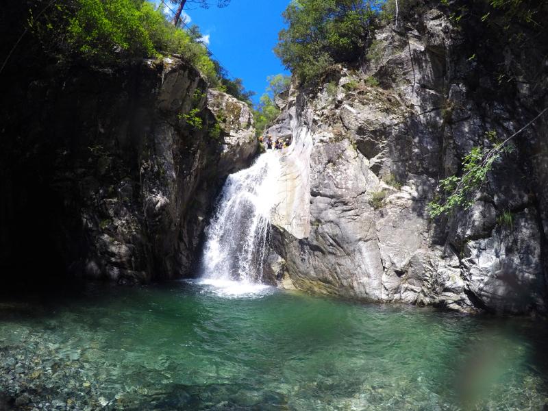 Canyoning Verghellu Le Tobogan