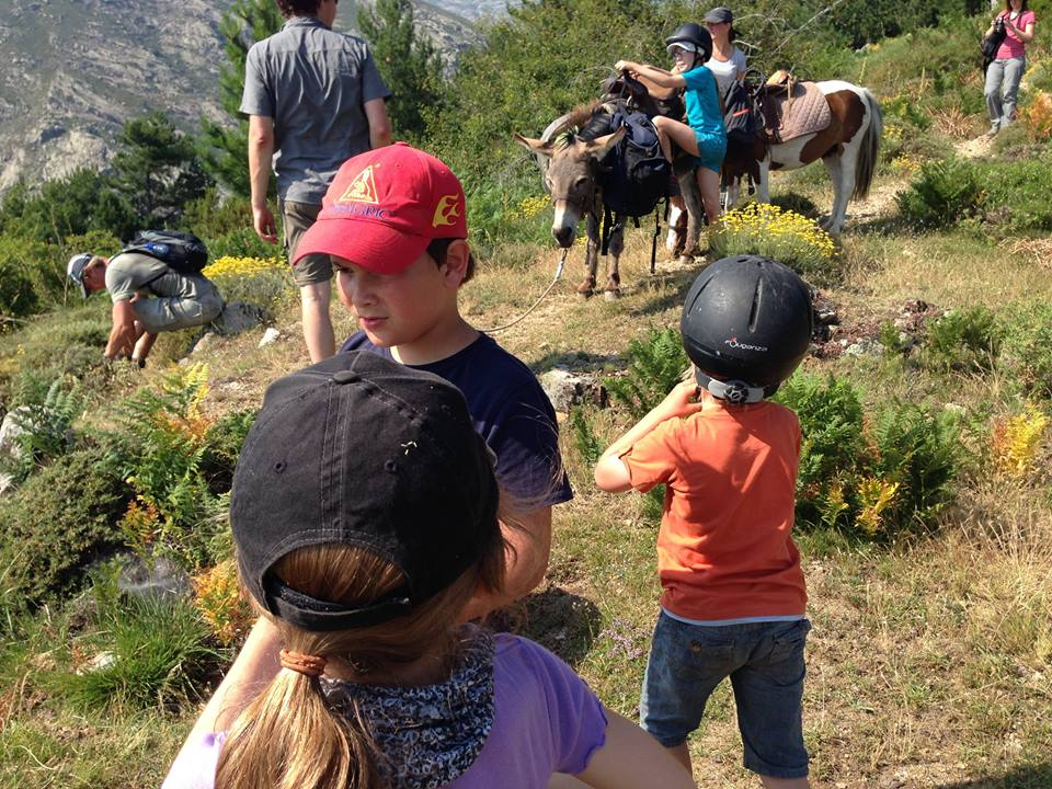 Toutes les joies de la montagne Corse avec des enfants
