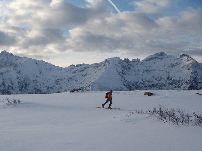 Haute route à skis en Corse