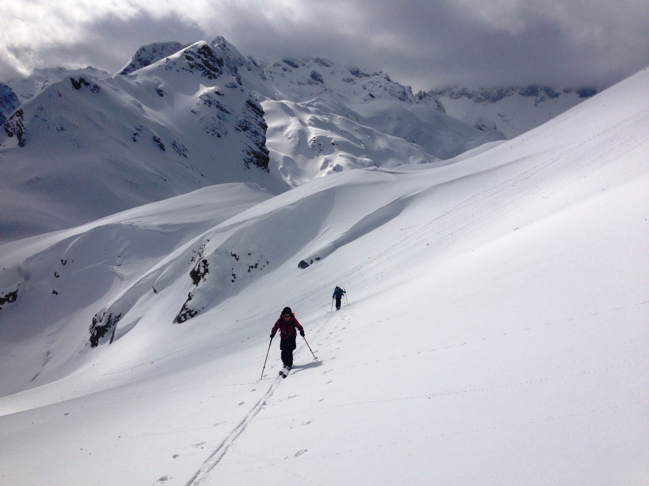 Raid à ski dans les balkans