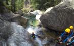 Canyoning du Verghellu en image